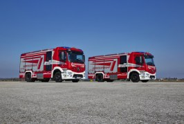 First Rosenbauer's AT implemented on the new Antos chassis from Mercedes-Benz