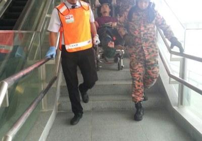 Fire Drill in MRT