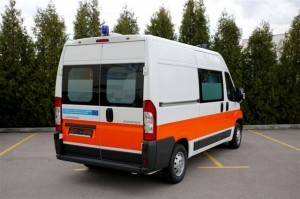 Il mezzo MAF che è stato fornito in Bulgaria è uno speciale allestimento ABS