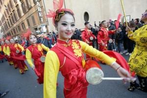 Roma. Capodanno Cinese a Piazza del Popolo