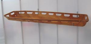 La prima basket stretcher progettata da Ray Eames