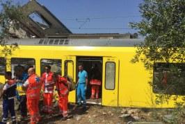 La strage ferroviaria di Corato: il report dalle prime ambulanze sul posto, della Misericordia di Andria