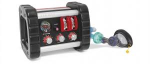 Il ventilatore polmonare NXT 118 di Spencer Italia, il primo completamente pneumatico e shockproof senza batterie e con allarmi a pressione