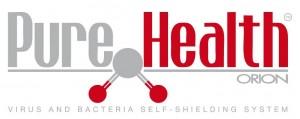 Il logo del sistema Pure Health ideato da ORION