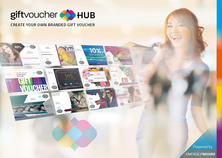 Giftvoucherhub - Secure document printing - EmergeSecure - THE - print your own voucher