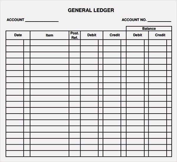 ... Free Ledger Forms   Matchboard   Business Ledger Example ...  Business Ledger Example