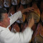 checking the ageing of Parma ham