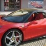 Ferrari 458 test drive in Maranello