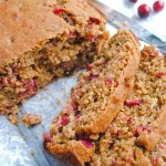 Whole Wheat Vegan Cranberry Orange Bread