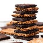 Vegan Graham Crackers (Vanilla & Chocolate!)