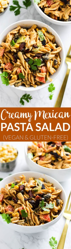 Intriguing This Creamy Vegan Mexican Pasta Salad Is Packed Healthy Fats Creamy Vegan Mexican Pasta Salad Emilie Eats Vegetarian Mexican Recipes By Sanjeev Kapoor Vegetarian Mexican Recipes Nz Spicy