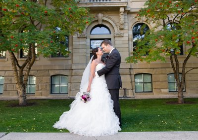 Kirsten + Doug – Classy Downtown Calgary Wedding