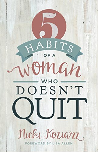 Woman Who Doesn't Quit