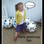 Party Planning for a six year old