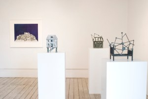 Installation view of Interior Spaces, 2010