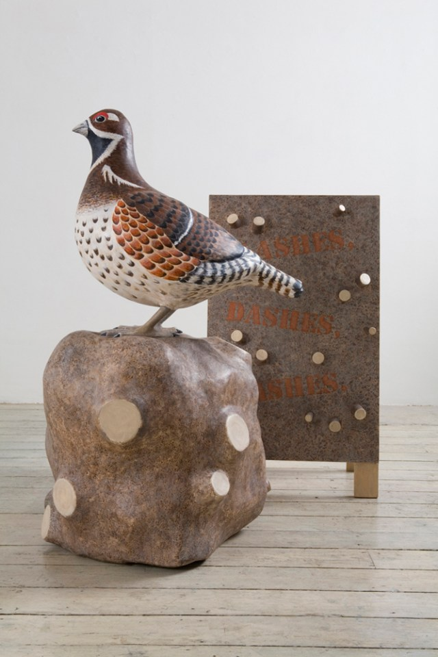 DENISE DE CORDOVA With or Without Grouse, 2007