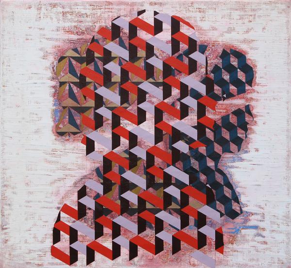 JAMES FISHER Jenny Nettles, 2014, oil on linen, 52 x 57cm