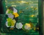 DAN ROACH Amok, 2013, oil and wax on panel, 24 x 30cm