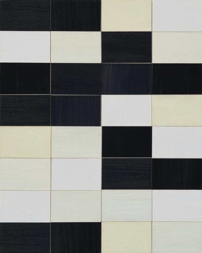 TREVOR SUTTON Façade, 2011, oil and paper on board, 25.5 x 20cm