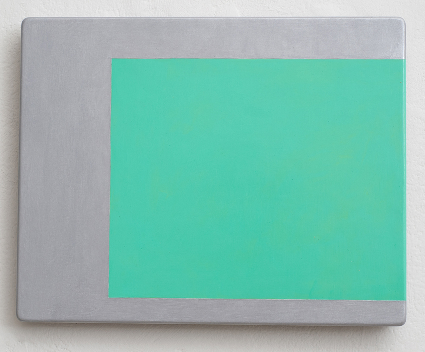 KEVIN FINKLEA Shift-A Fluphenazine, 2003, acrylic on MDF, 20 x 25cm