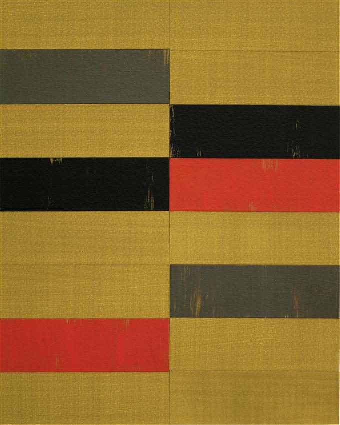 TREVOR SUTTON Study for E.E., 2012, oil and paper on board, 25.5 x 20cm