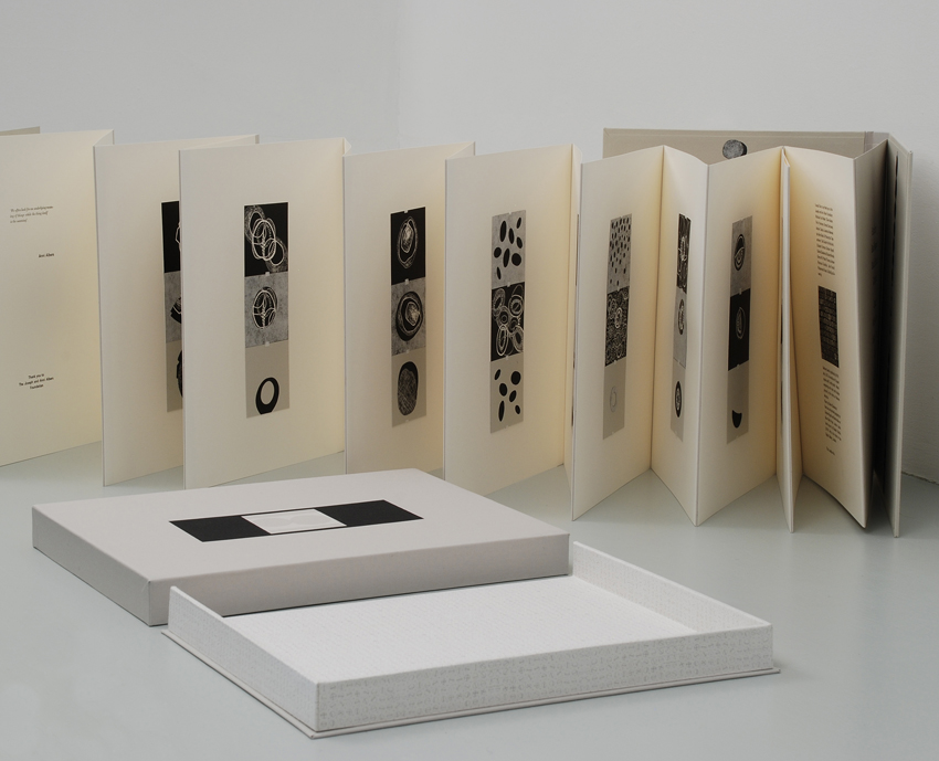 MANDY BONNELL Bethany Seeds, 2014, Artist's book