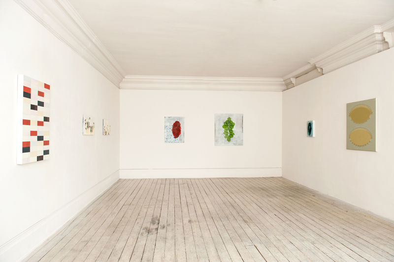 Installation view of WHITEOUT, 2015
