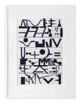 Dream Dictionary, 2016, oil on aluminium, framed 63.5 x 49cm