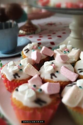 White rabbit buns by Amy Brown.