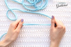 make t-shirt yarn with mollie makes