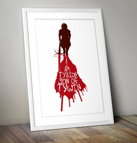 Original art print - Tyrion Game of Thrones