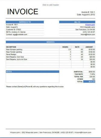 10 Free Freelance Invoice Templates Word / Excel Translation - freelance invoices