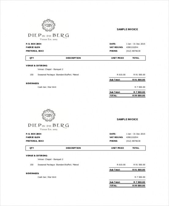 Cake Invoice Template \u2013 11+ Free Word, Pdf Documents Download Free - invoice documents