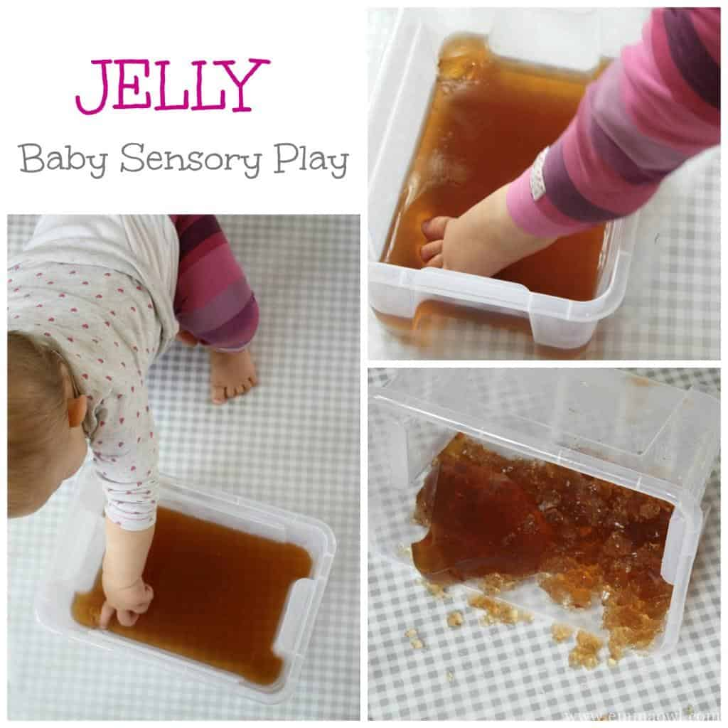 Baby Sensory Play - with Jelly - Jello