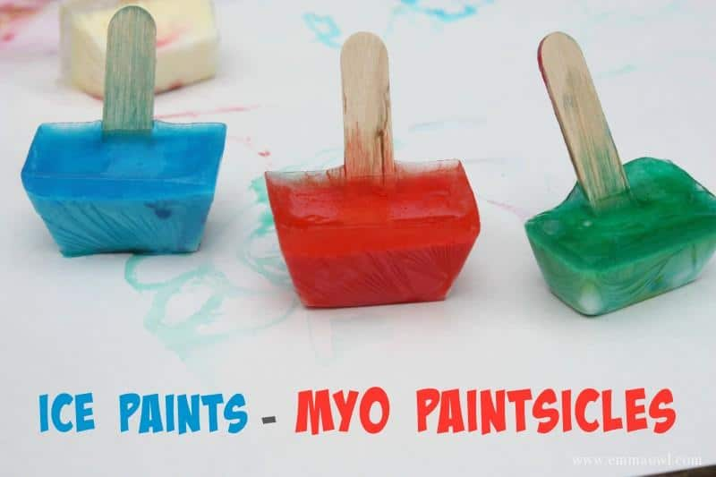 MYO Paintsicles - ice paints