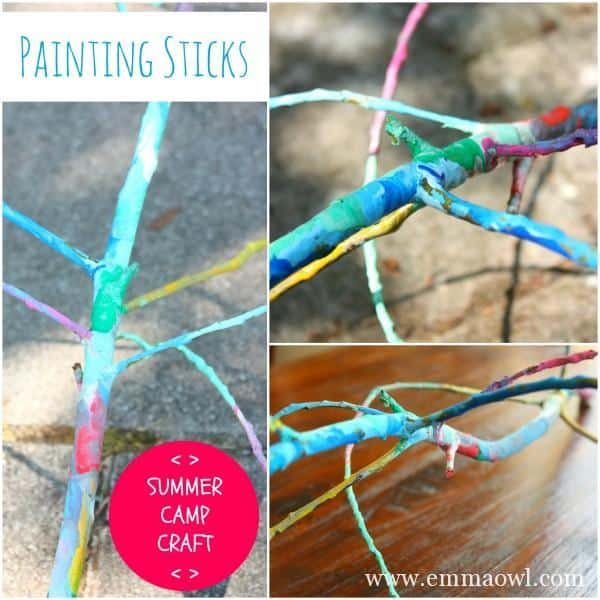 25 of the best outdoor nature art crafts for Best paint for outdoor crafts
