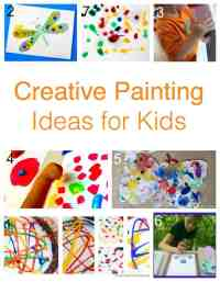 171 Painting Ideas - Techniques and Projects for Kids ...
