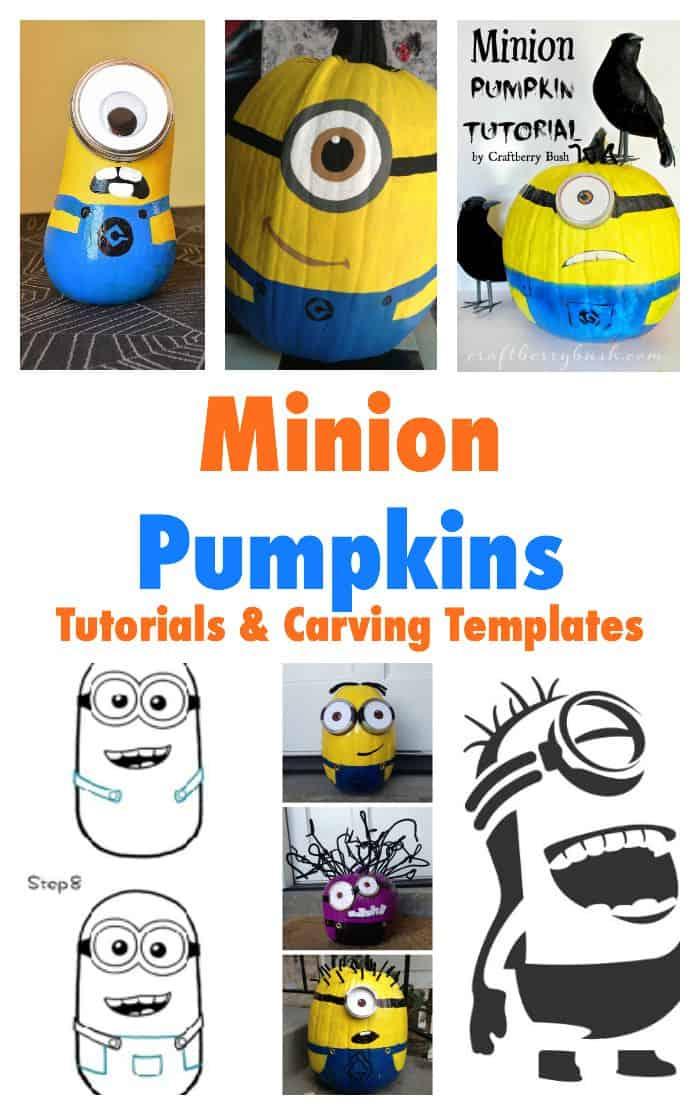 Minion Halloween Costumes - Pumpkin, Treat Bags and Decoration ...