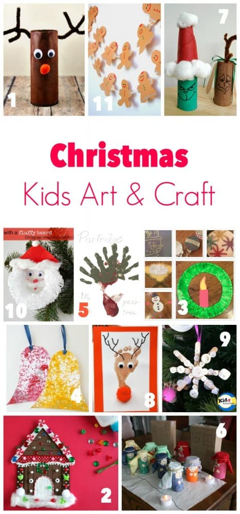 Great Ideas for Christmas Art and Craft for Kids