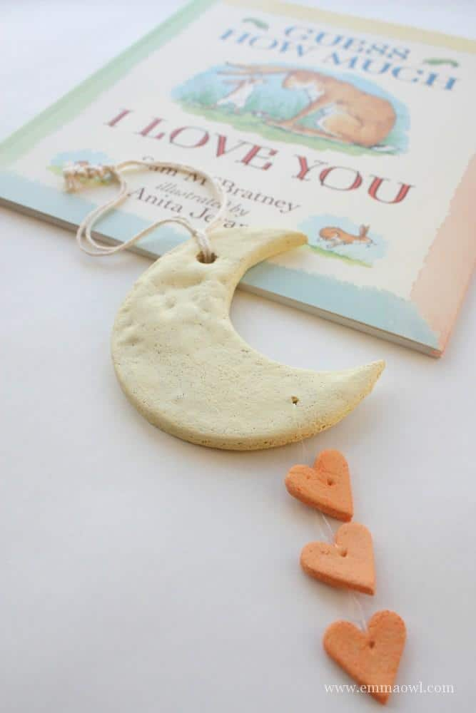 Guess How Much I love you = Kid Made Christmas Tree Ornament