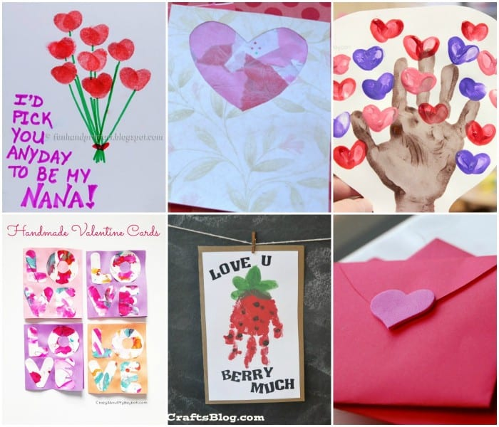 child made valentines day card ideas