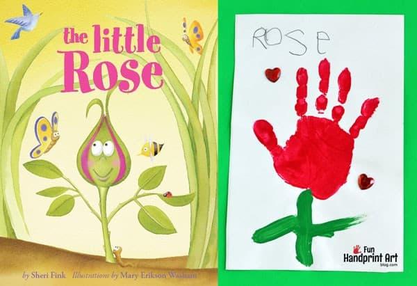 The-Little-Rose-Handprint-Craft