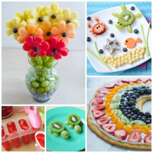 Fun ways to eat fruit!