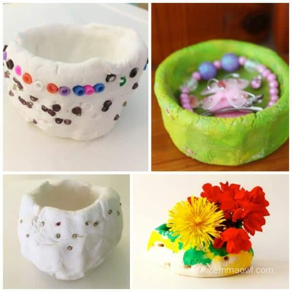 Decorating a pinch pot