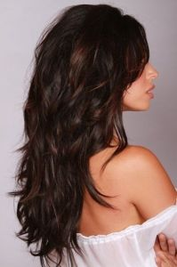 Fall 2014 Hair Trends: Color Me Dark and Wavy
