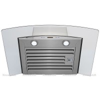XtremeAIR 36 Inch Wall Mount Stainless Steel Range Hood ...