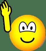 Raise Hand Emoticon