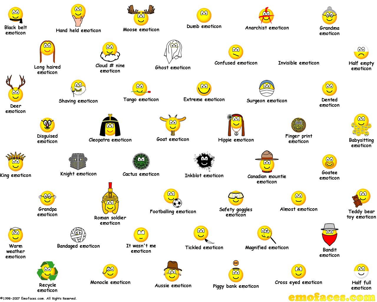 Emoticons Cute Wallpaper Gratis Emofaces Wallpapers Emoticons Buddy Icons En Smilies