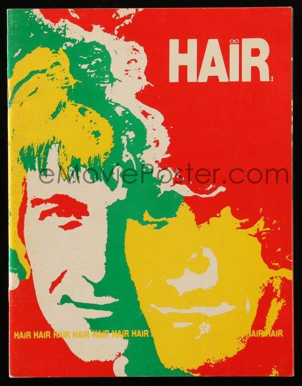 eMoviePoster 9d795 HAIR stage play souvenir program book \u002770