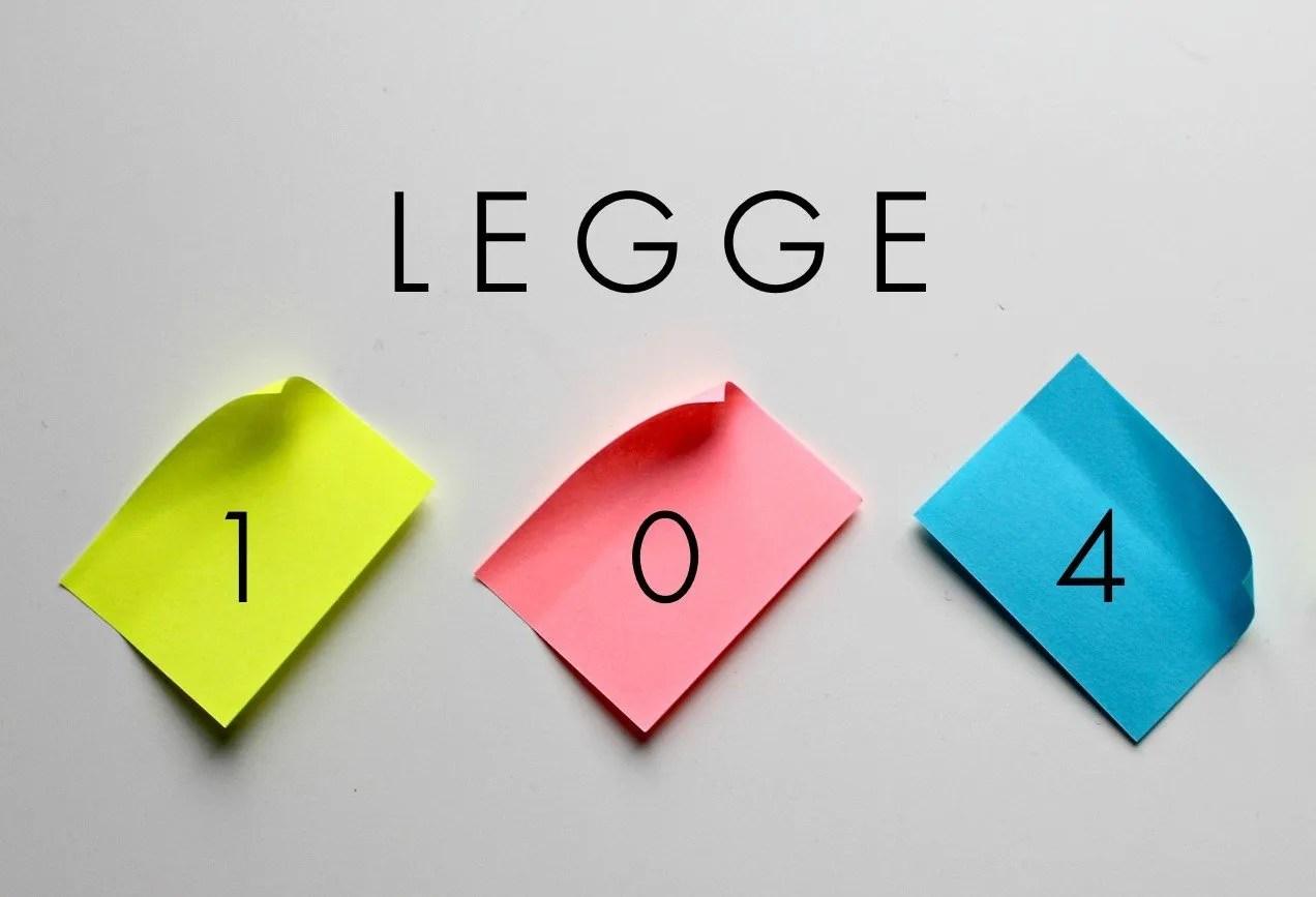 LEGGE-104-COMP